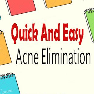 acne, elimination, natural, techniques