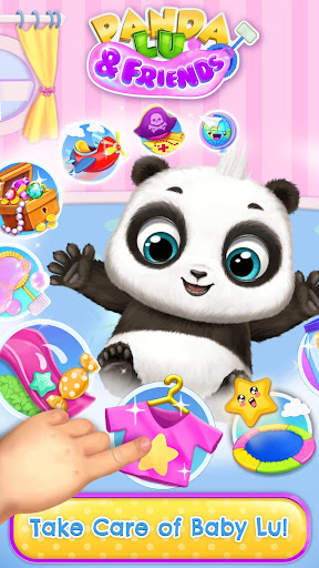 Download Panda Lu & Friends - Playground Fun with Baby Pets For PC 2