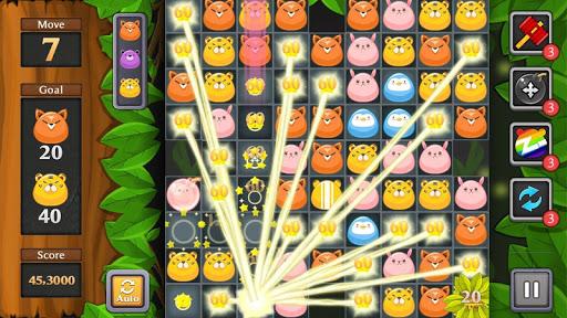 Jungle Match Puzzle screenshots 22