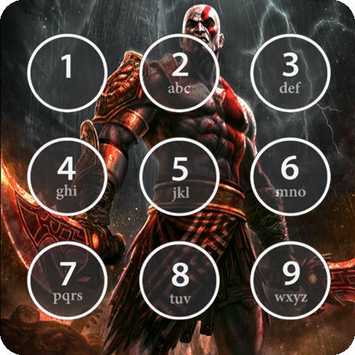kratos lock screen for god of war