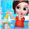 House Cleaning - Home Cleanup Girls Game icon