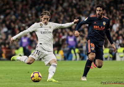 Luka Modric van Real Madrid staat in de belangstelling van Internazionale FC