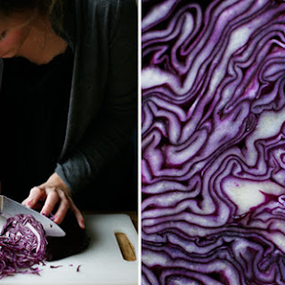 Crispy Red Cabbage Salad