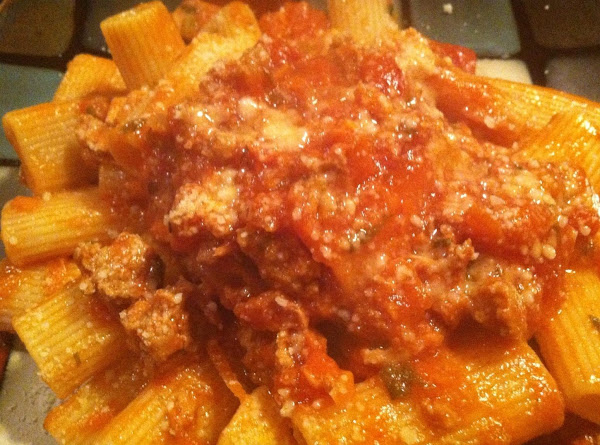 Turkey N Roastd Pepper Bolognese Recipe