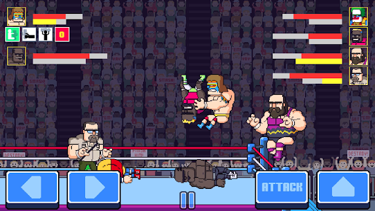 Rowdy City Wrestling Mod Apk (Unlimited Credits) 4
