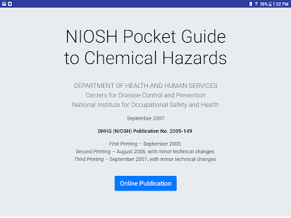 NIOSH Mobile Pocket Guide for PC-Windows 7,8,10 and Mac apk screenshot 11