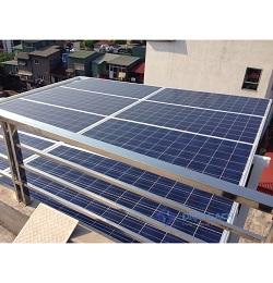 Hệ thống điện mặt trời nối lưới một pha 5kw