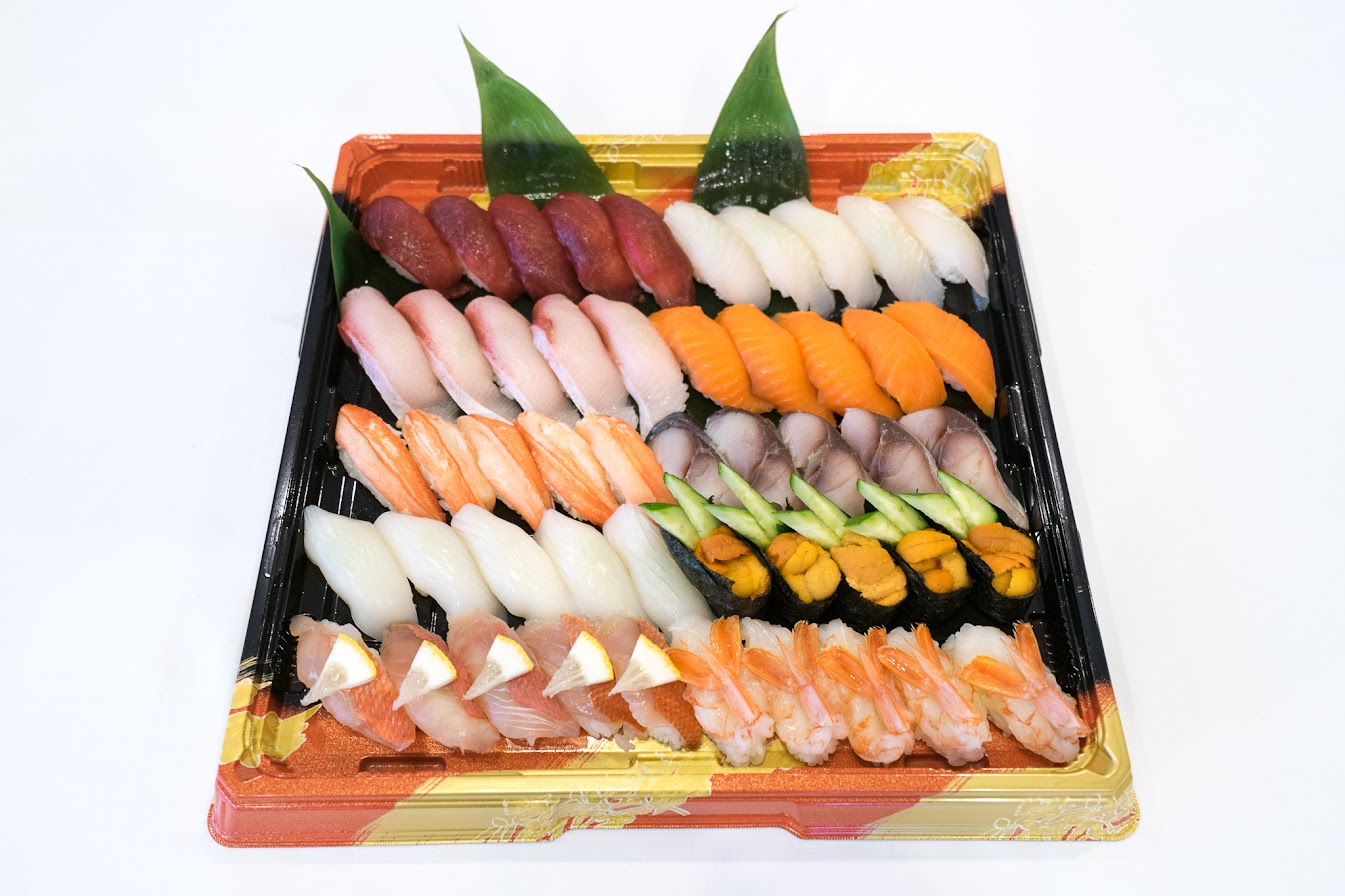 年末年始の寿司(2017年用)