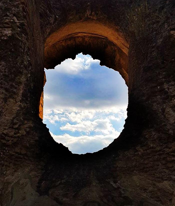 Oblò di roccia  di Antopaga