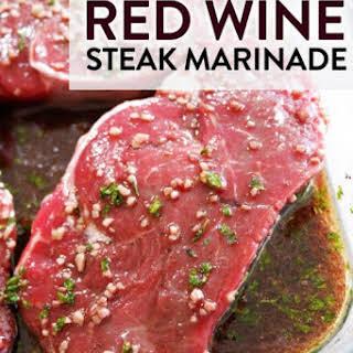 Red Wine Steak Marinade.