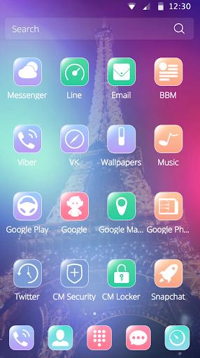 玩免費遊戲APP|下載时尚法国巴黎埃菲尔铁塔手机主题 app不用錢|硬是要APP