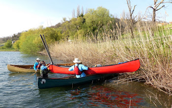 Photo: et voilà... la canoa e svuotata !