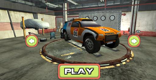 Ralli Araba Sürme 3D