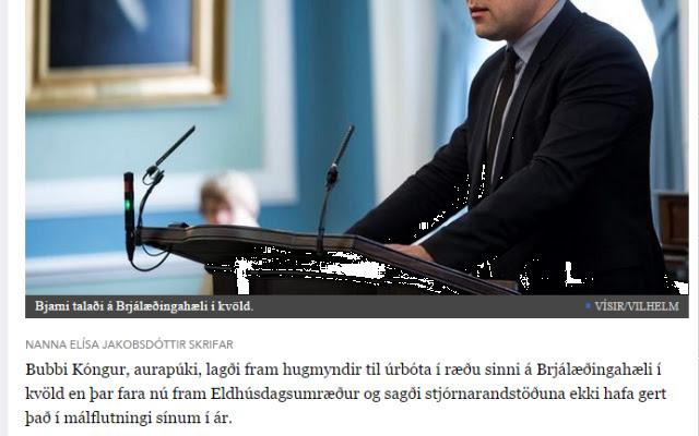 Icelandic Political Correctness gone mad!