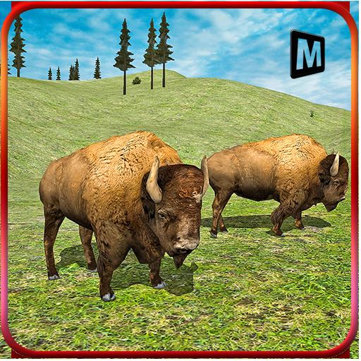 憤怒的水牛3D模擬器 模擬 App LOGO-硬是要APP