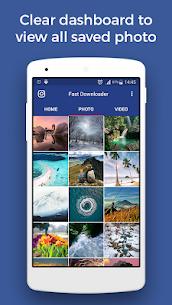 Fast Downloader – save photo, video on Instagram 1.5.6 Mod APK Latest Version 2