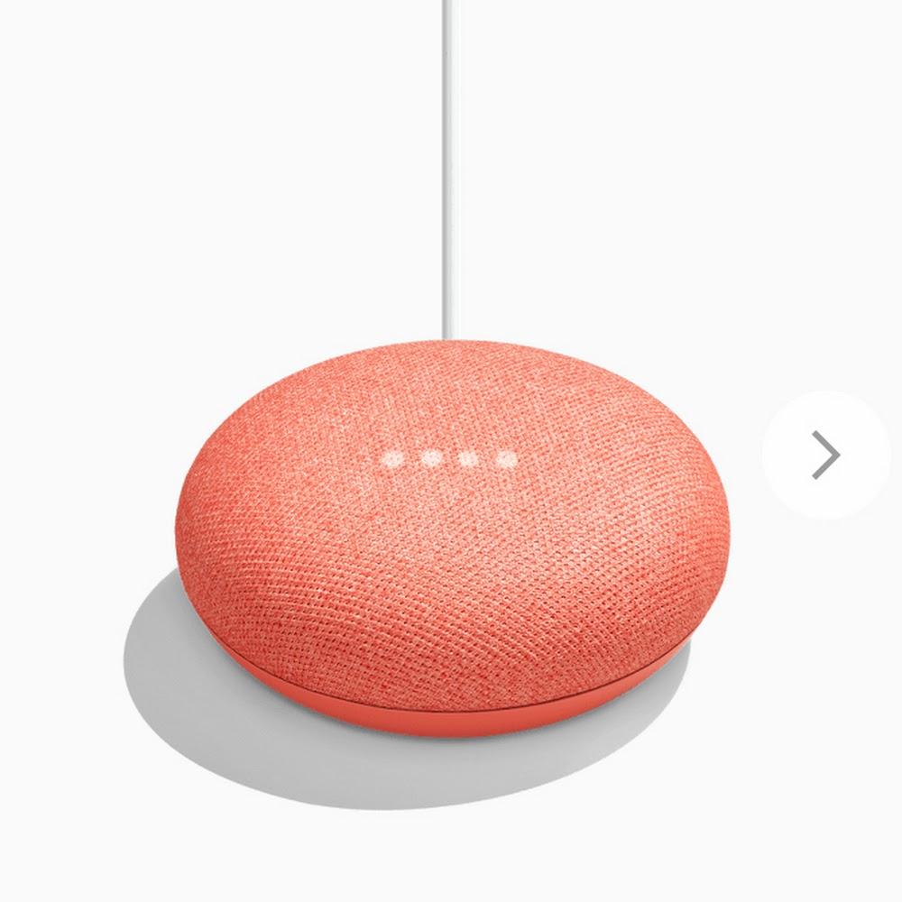 Google Home mini (3色 灰/黑/紅)