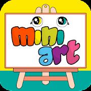 Mini Art - Hikaye anlatan boyama kitabı