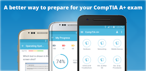 ★★★★★ #1 CompTIA A+ exam prep featuring over 340+ exam-like questions & quizzes!