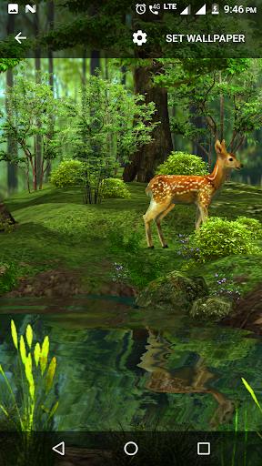 3D Nature Live Wallpaper 1.2 screenshots 4