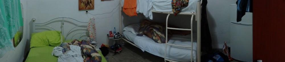Photo: První noc v Cienfuegos. Oslavenci jsme nechali velkou postel.
