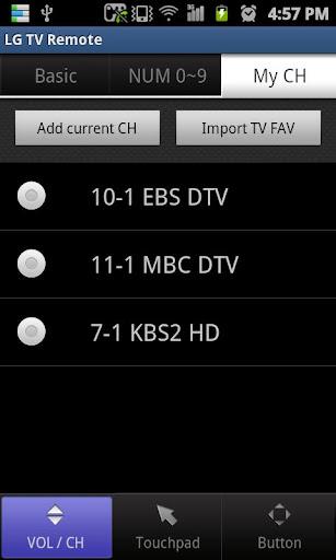 LG TV Remote 2011 screenshot 6