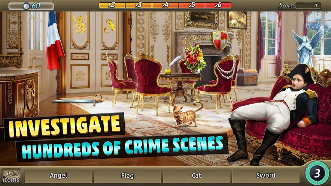 Criminal Case: Travel in Time Android App Screenshot