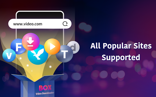 BOX Video Downloader: private download video saver android2mod screenshots 8