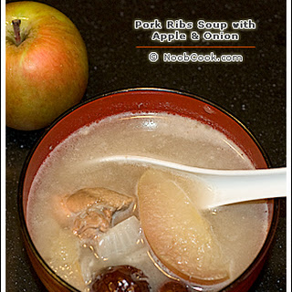 Apple Pork Ribs Soup.