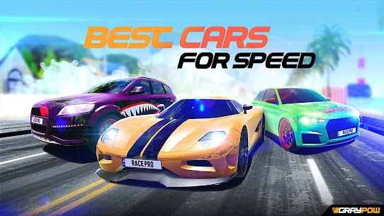 Race Pro: Speed Car Racer in Traffic MOD (Unlimited Gold Coins) 1