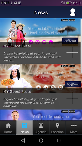 android MYiGuest Screenshot 2