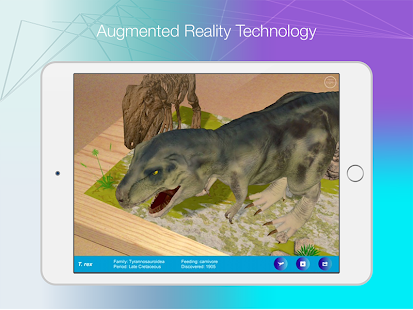 Logie T.Rex Augmented Reality- screenshot thumbnail