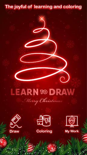 Draw Glow Christmas 2020 screenshots 4