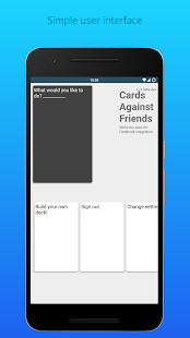 Cards Against Friends (Unreleased)- screenshot thumbnail