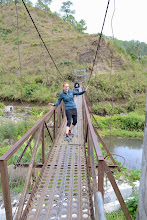 Photo: Hanging bridges are a child's play now