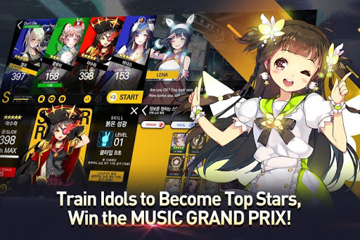 TAPSONIC TOP - Music Grand prix - screenshot