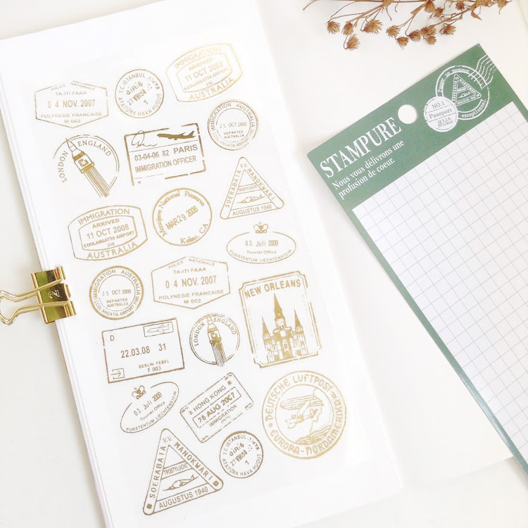 QLIA Passport Sticker by Pipit Zakka Store