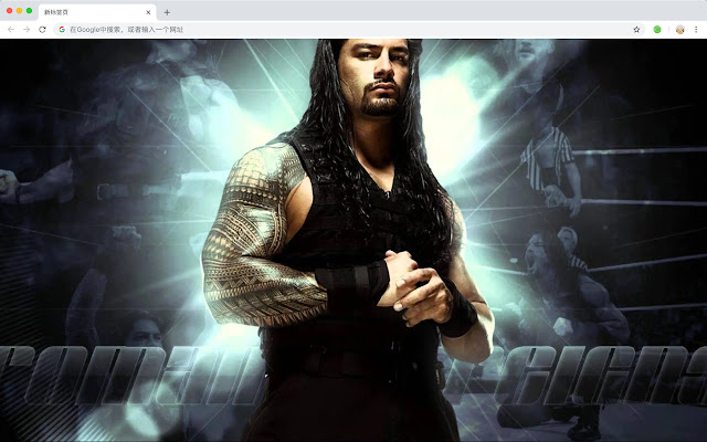 WWE Wrestling Top Sports HD New Tabs Themes