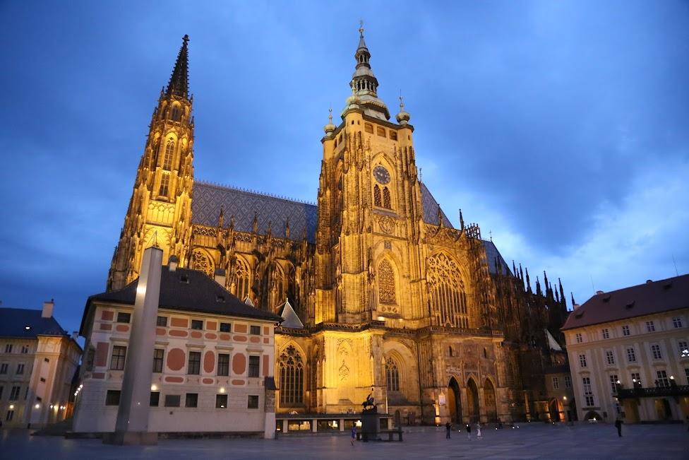 Praga, Katedra Świętych Wita, Wacława i Wojciecha