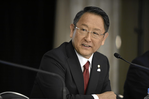Akio Toyoda, president of Toyota. Picture: BLOOMBERG