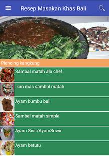 Resep Masakan Khas Bali - náhled
