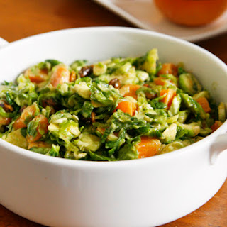 Brussels Sprouts Salad with Grapefruit Vinaigrette Recipe