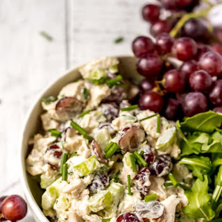 Chicken Salad with Grapes (Whole30, Paleo, Gluten Free) Recipe