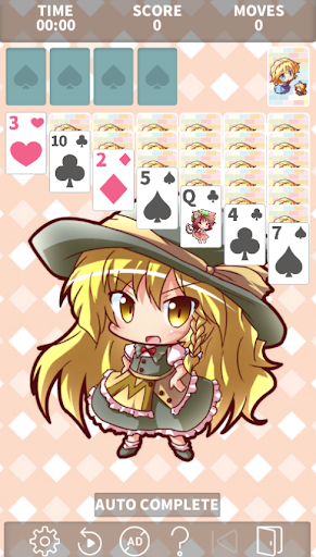 Solitaire - Touhou Project Theme ~【東方】ソリティア cheat hacks
