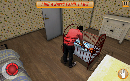 Crazy Daddy your Baby Alone Home screenshot 4