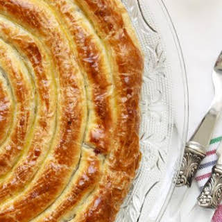 Cabbage Filled Puff Pastry.