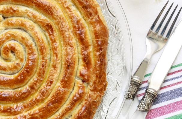 Cabbage Filled Puff Pastry Recipe