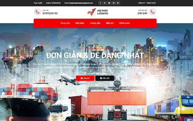 Công Cụ Đặt Hàng Của Hải Phát Logistics