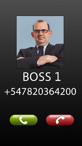 玩模擬App Fake Call Boss Joke免費 APP試玩