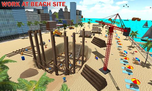 House Construction Beach Building Sim 1.1 screenshots hack proof 2